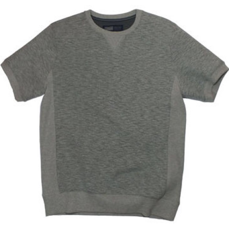 Essential Crew Neck Light Grey